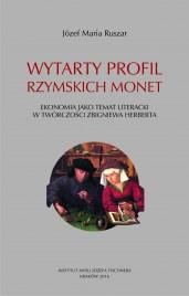Okładka książki Wytarty profil rzymskich monet