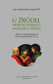 Okładka książki U źródeł nowoczesnego myślenia o religii
