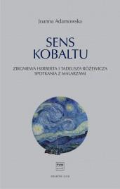 Okładka książki Sens kobaltu